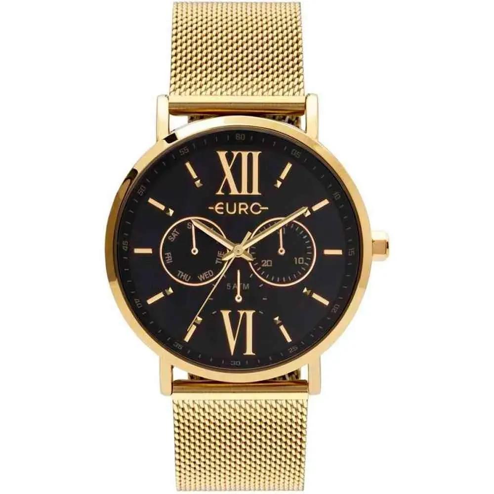 Relógio Euro Feminino Multiglow Dourado Eu6p29ahcbp/4p