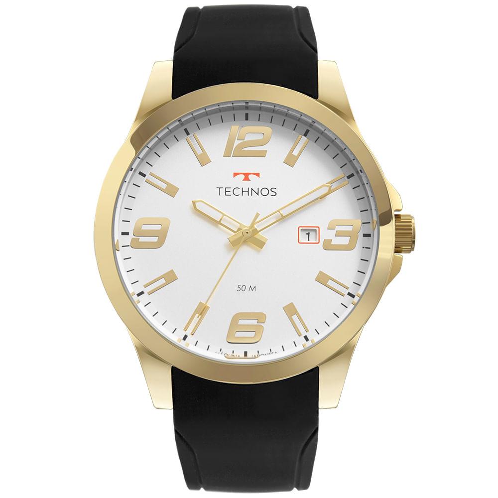 Relógio Masculino Technos Analógico Com Calendário 2115MOMS/8B