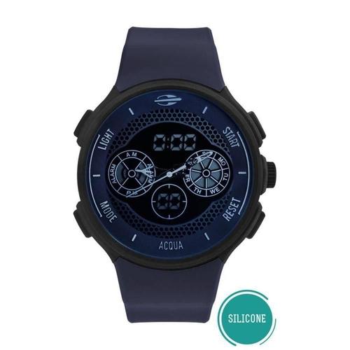 Relógio Mormaii Masculino Action Anadigi Azul Escuro Mo1608b/8c