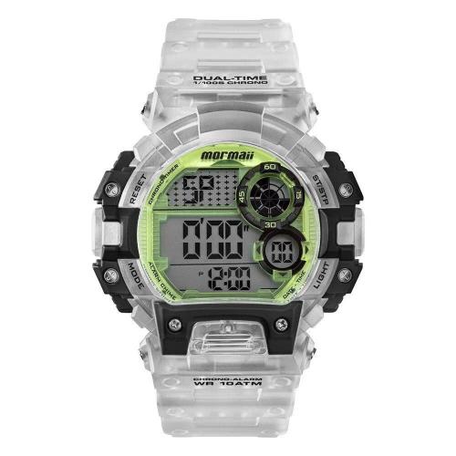 Relógio Mormaii Masculino Digital Translúcido Mo13613ac/8w
