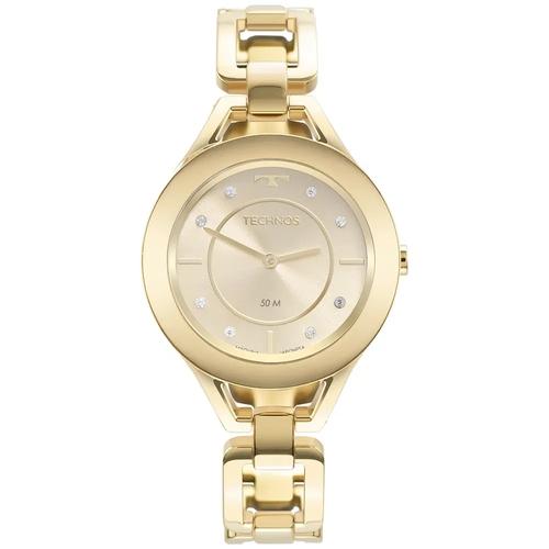 Relógio Technos Feminino Elos Dourado Gl20hm/1x