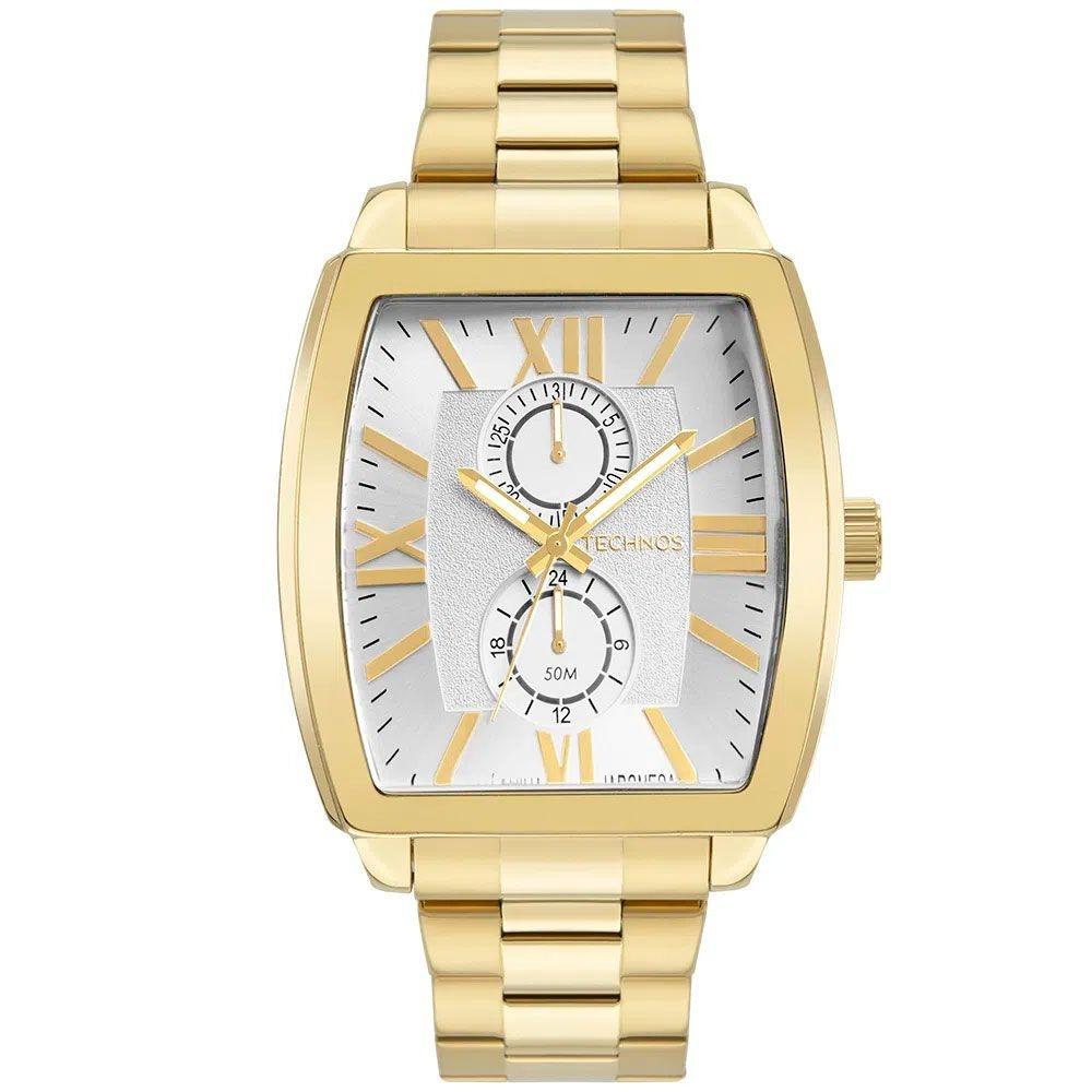 Relógio Technos Masculino Grandtech Dourado 6p23am/1k