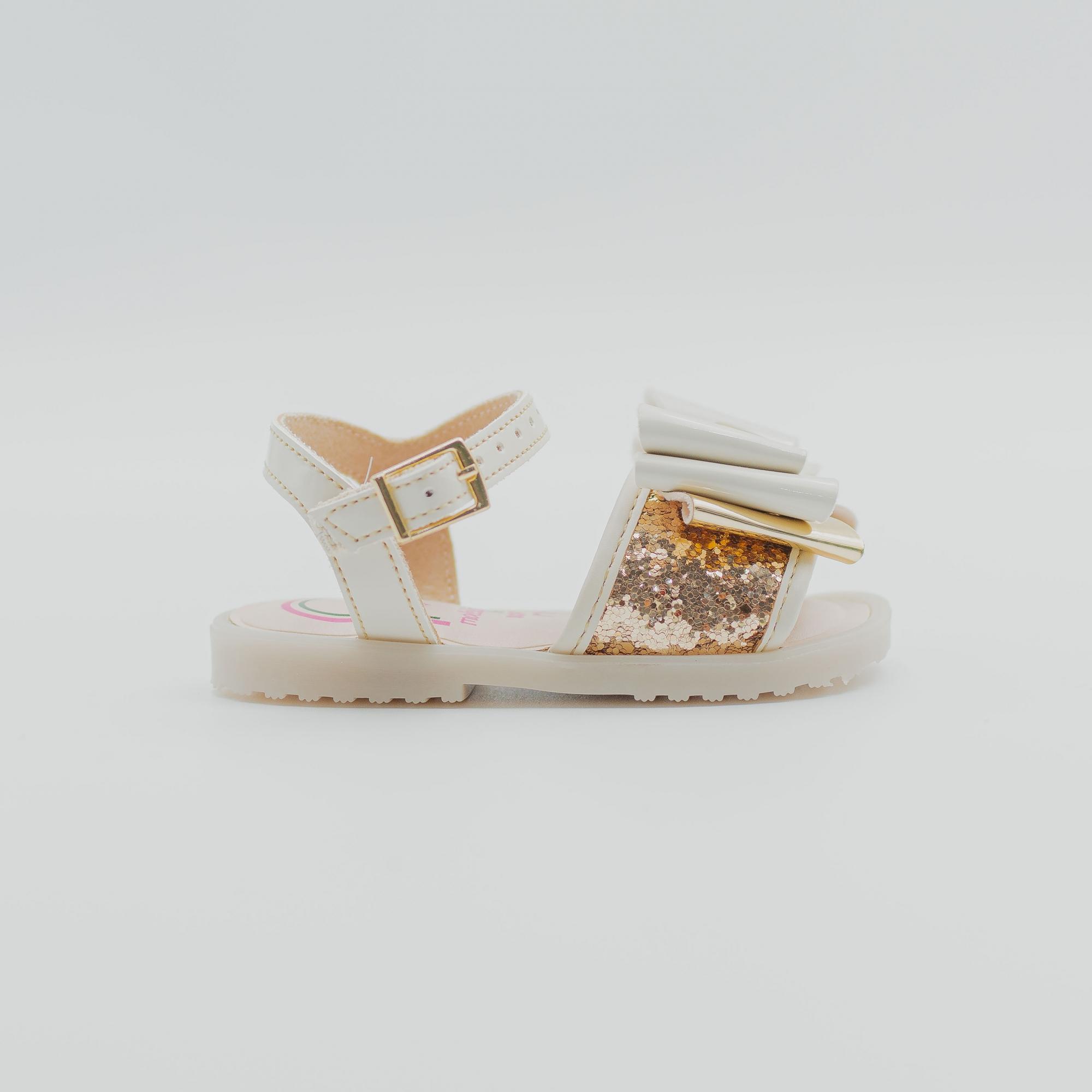 Sandalia Molekinha Dourado