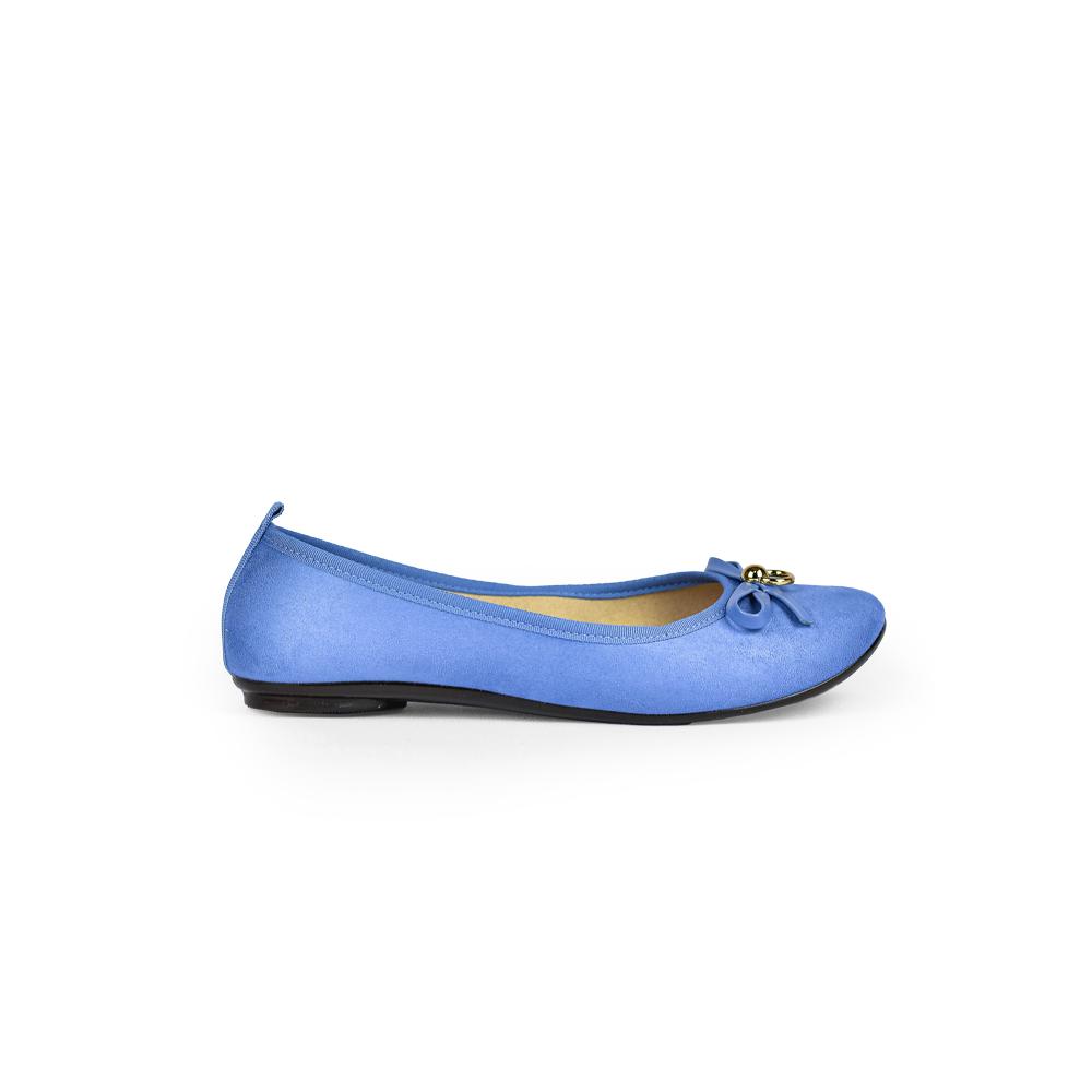 Sapatilha Casual Moleca Camurça Flex Jeans 5314552