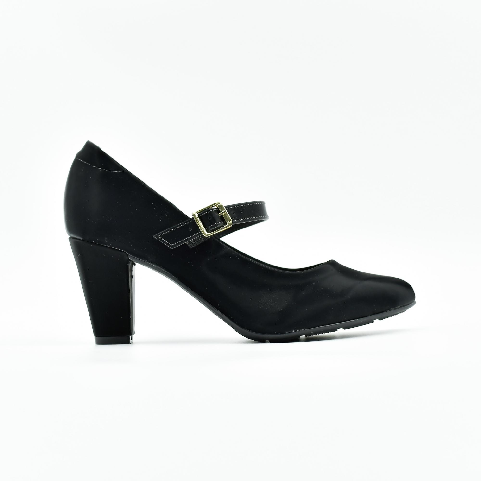 Sapato Feminino Modare Salto Napa Glossy Preto
