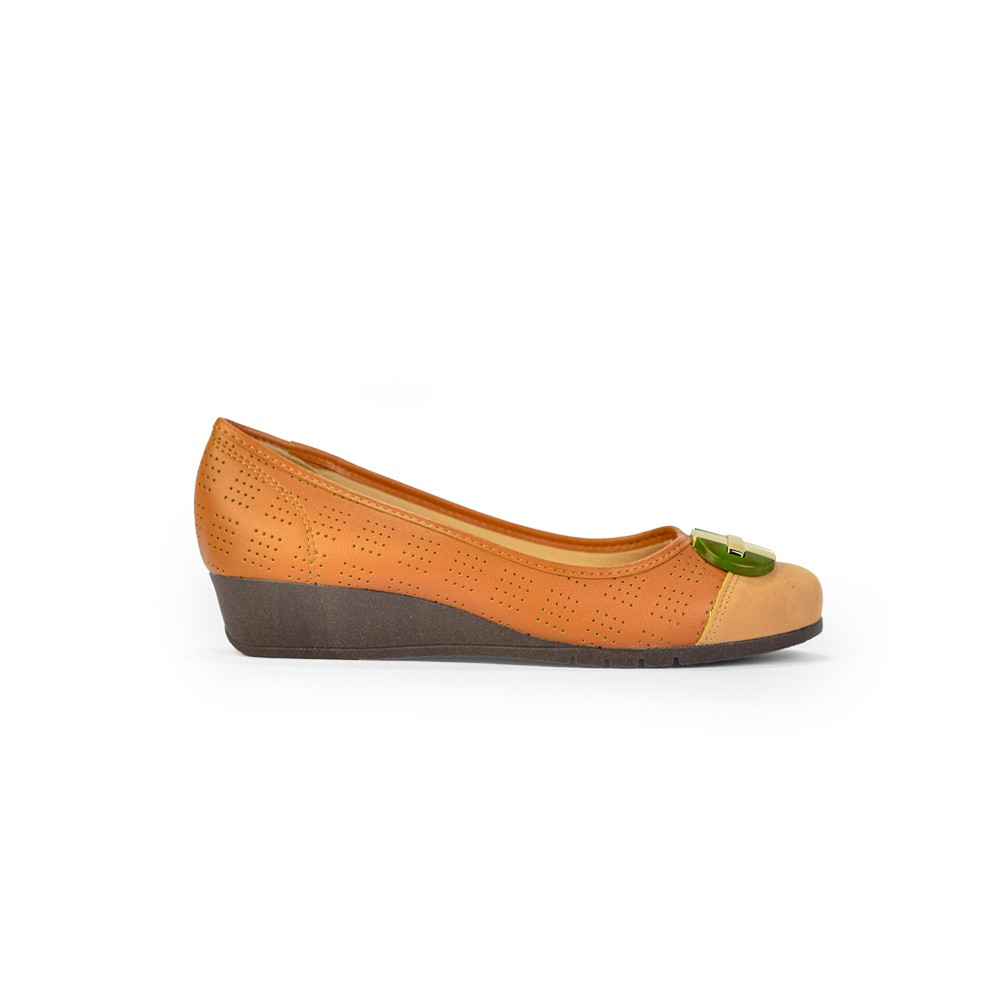 Sapato Moleca Napa Turim Casual Anabela Super Conforto