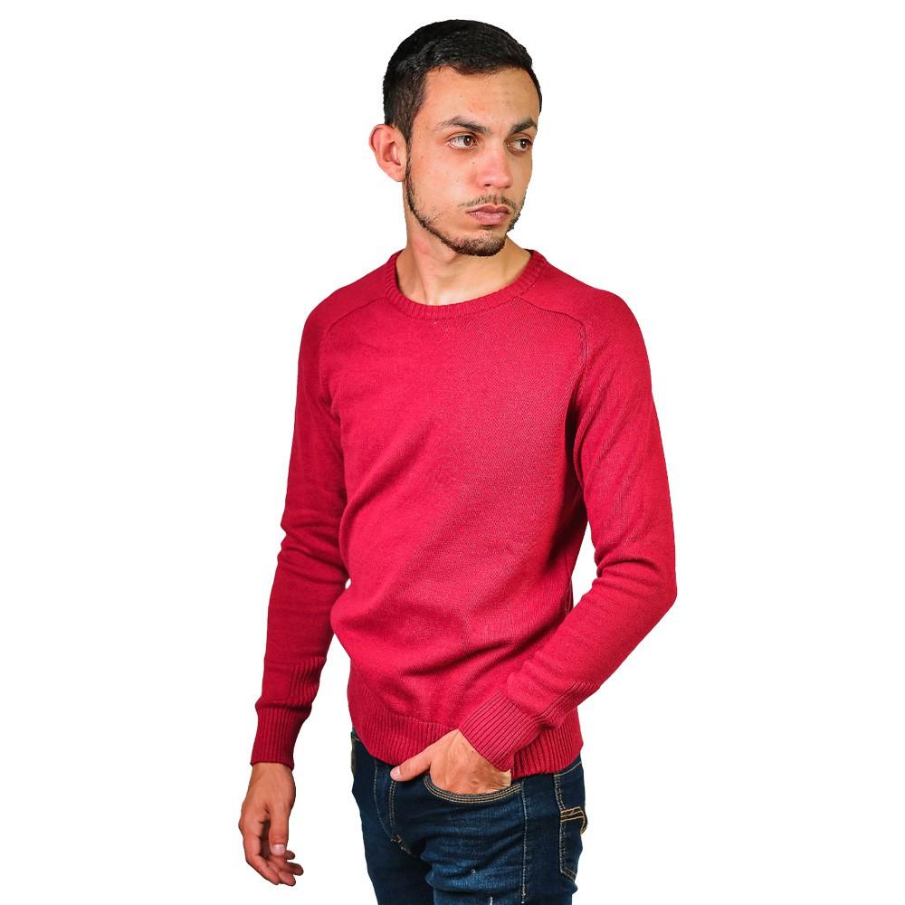 Sueter Basico Gola Careca Masculino VLC Vermelho