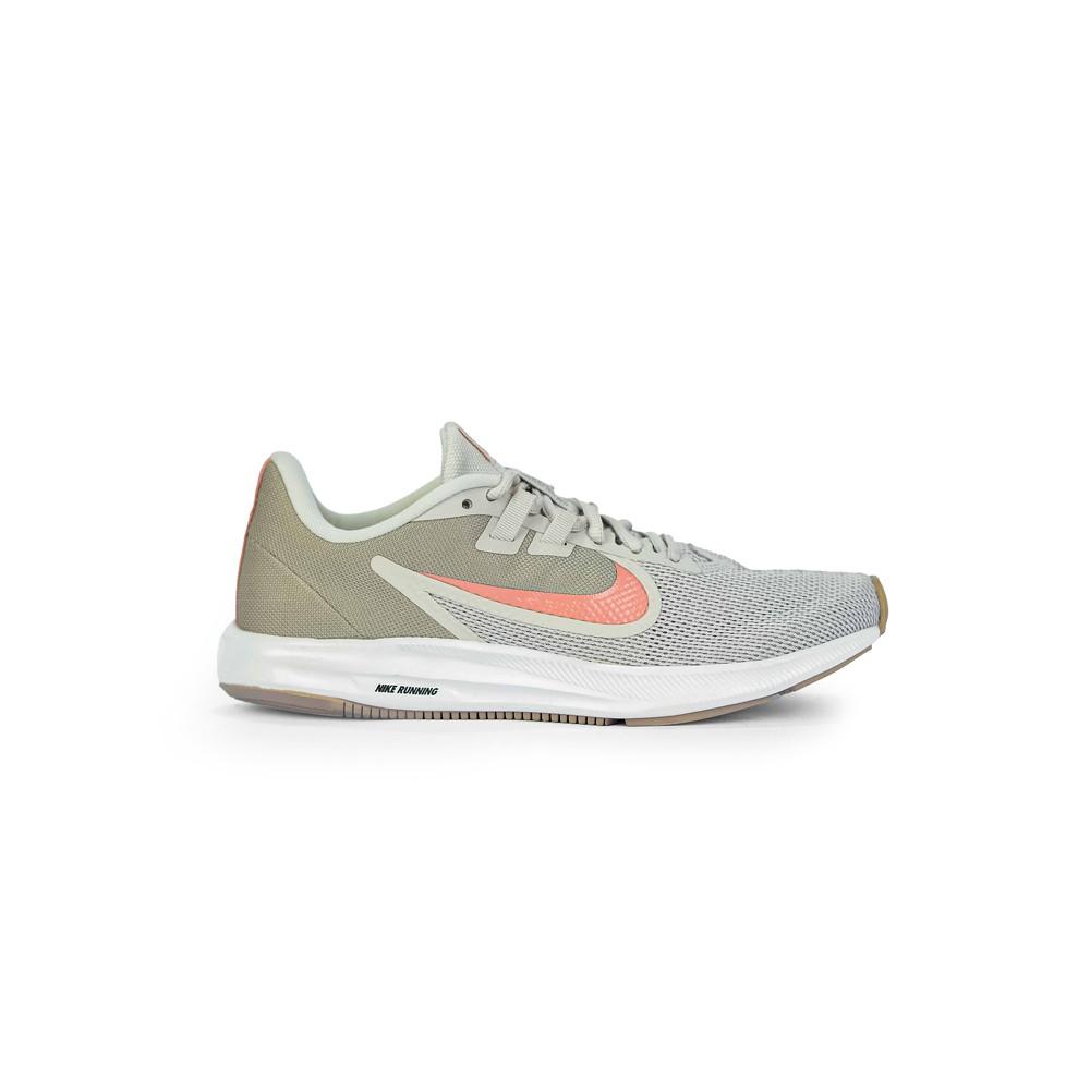 Tenis Nike Feminino Downshifter 9 para Correr Cinza/Rose