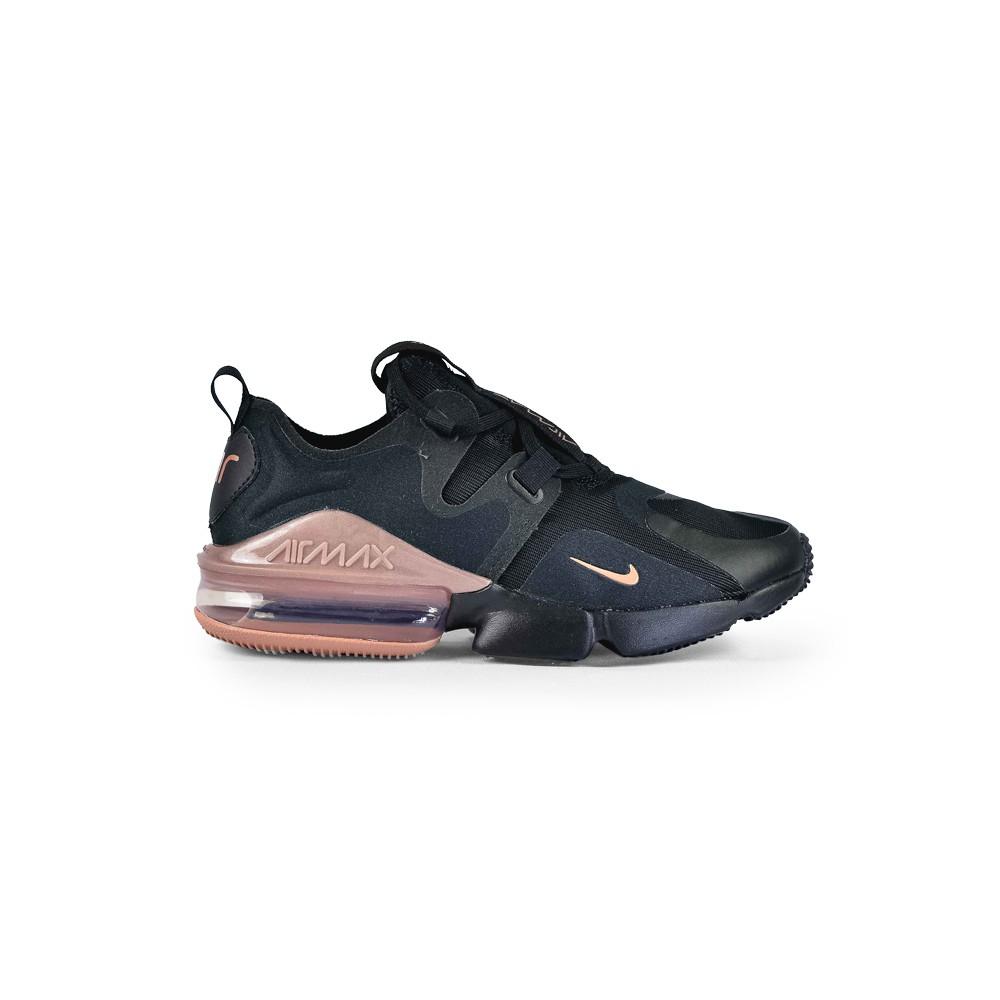 Tenis Nike Original Air Max Infinity Feminino Preto BQ4284001