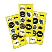 Adesivo Batman Geek c/30 unid - Festcolor