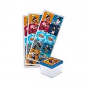 Adesivo Quadrado Naruto c/30 unid Festcolor