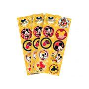 Adesivo Redondo Mickey C 30 unid Regina