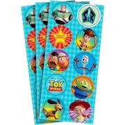Adesivo Redondo Toy Story C 30 unid Regina