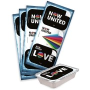 Adesivo Retangular Now United C 12 unid Festcolor