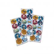 Adesivos Naruto c/30 unid Festcolor