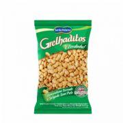 Amendoim Grelhaditos Torrado e Salgado Sem Pele 400g Santa Helena