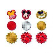Aplique Decorativo Mickey C 02 Cartelas Regina