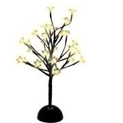 Árvore Led Flor Warm Pilha 35cm - Magizi