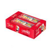 Bala Canudinho Pocket 12 x 15g  Colorido Morango Ácido Docile
