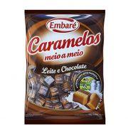 Bala Caramelo 660g Leite Chocolate Embaré