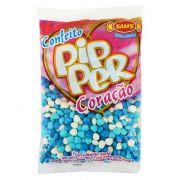 Bala Confeito Pipper 500g Azul Colorido Simas