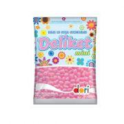 Bala Deliket Mini Rosa Claro 350g Dori