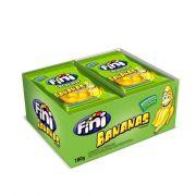 Bala Gelatina Pocket 12 x 15g Banana Fini