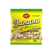 Bala Mastigável 400g Banana Erlan