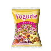 Bala Mastigável 600g Yogurt Sortido Santa Rita