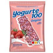 Bala Mastigável 600g Yogurte 100 Morango Dori