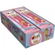 Bala Regaliz Pocket 12x17g Tubo Recheado Yogurte 100 Ácido Dori