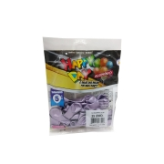 Balão Alumínio Lilás N5 25 unid Happy Day
