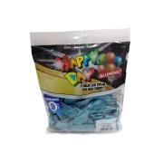 Balão Alumínio Verde Oceano N9 25 unid Happy Day