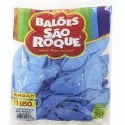 Balão Azul Baby N11 50 unid São Roque