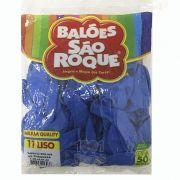 Balão Azul Turquesa N11 50 unid São Roque