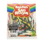 Balão Canudo 1:60 C/50 unid. São Roque