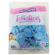 Balão Chá de Bebê Azul N11 25 unid Art Latex