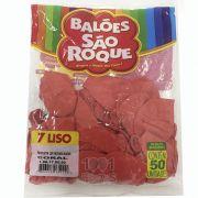 Balão Coral N07 50 unid. São Roque
