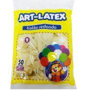 Balão Cristal N09 50 unid Art Latex