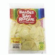 Balão Cristal N09 50 unid São Roque