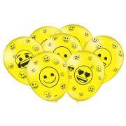 Balão Emoji C 25 unid Festcolor