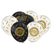 Balão Festa de Boteco C 25 unid Festcolor