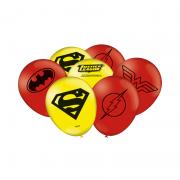 Balão Liga da Justiça c/25 unid Festcolor