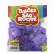 Balão Lilás Baby N11 50 unid. São Roque