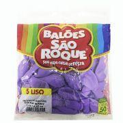 Balão Lilás  N05 50 unid São Roque