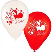 Balão N09 Minnie Vermelha Regina