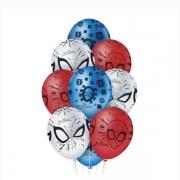 Balão N12 Homem Aranha Regina