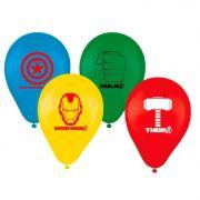 Balão N 09 Avengers C 25 unid Regina