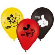 Balão N 09 Mickey C 25 unid Regina