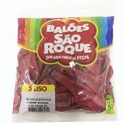 Balão New Pink N05 50 unid São Roque